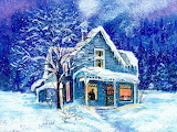 Winter Cottage @ wallpapercave.com...