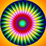 Colored Optical Illusion