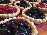 ^ Blueberry and Raspberry Pies
