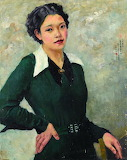 Jingying Zhang, Self-Portrait, 1936
