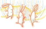 Bunnydancing, Mary Lundquist