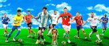 Fifa World Cup, Top Soccer Players, 2014...