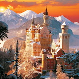 Bavarian Neuschwanstein Castle...