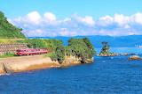Himi line and amaharashi coast, Japan