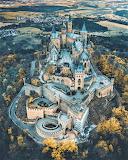 Hohenzollern Castle Germany fall season