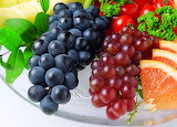 Food Berries and fruits and nuts Grapes