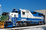 Train Locomotive EMD GP60 Demonstrator #5