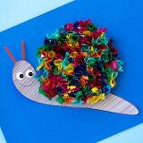 Tissue-paper snail..................................x