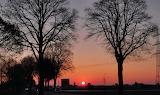 Sonnenaufgang über Hüls