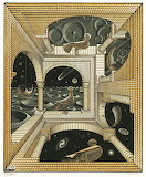 Escher - Altro mondo II (1947)