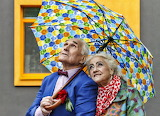 lovely elderly couple