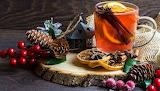 Winter tea with cinnamon and lemon