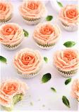 #Delicate Rose Cupcakes