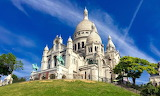 Sacre-Coeur basilica in Paris