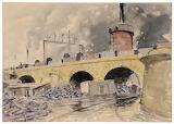 Railway Bridge at Steel, Peech & Tozer, Rotherham