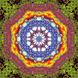 Colorful kaleidoscope abstract kg25