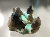 "Science Tumblr hematitehearts ""Microline var. Amazonite & Smoky"