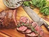 Sous Vide Leg of Lamb with Mint, Cumin, & Mustard...