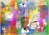 Cats & Dogs - Clipart