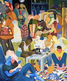 Nicole Eisenman 'Another Green World'. 2016