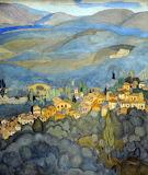 """Landscape Art tumblr dogsstardreaming """"Mytilene Landscape"""" """"Spyr"""