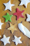 Star cookies @ King Arthur Flour