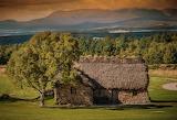 Old Leanach cottage - Culloden Moor - Scotland