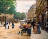 Flower Seller~ Victor Gabriel Gilbert