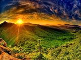 Sunrise Over the Hills