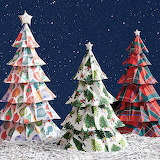 Christmas-paper-trees
