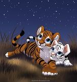 Tiger Cubs by Kamirah