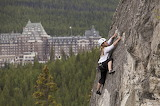Climbing Tunnel Mountain Banff