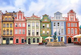 colored houses in Poland