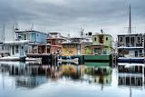 ^ Houseboats, Seattle, Washington
