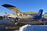 """""""Fly Denali"""" Alaska Magnum Beaver at Lake Hood in Anchorage"""