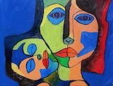 Painting by Oswaldo Guayasamin