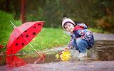 Boy-Child-Puddle-Umbrella-Toy-Rain