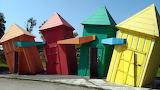 Wonky Huts