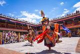 India, Ladakh, Hemis Tsechu Festival