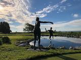 Mackinac Island Mission Point Sculpture by John Gonzalez