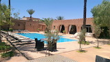 Luxury Marrakech courtyard pool and terrace