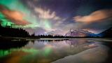 Banff AB Canada Vermilion lakes