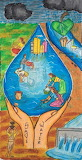 Environment day save water