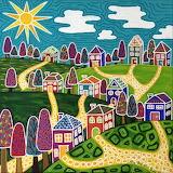 ^ Community Painting ~ Lisa Frances Judd