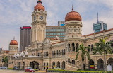 Sultan Abdul Samad building in Independence Square Kuala Lumpur