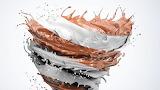 Chocolate almond swirl
