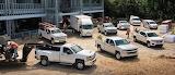 Work Trucks At Work
