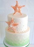 Starfish cake @ The SweetSide