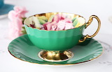 Green-porcelain-cup