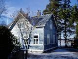 Maison, lac de Tuusula, Finlande
